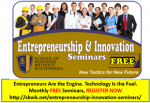 Entrepreneurship & Innovation Seminars
